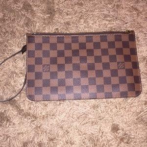 Louis Vuitton Bags - Authentic Louis Vuitton Pouchette Wristlet